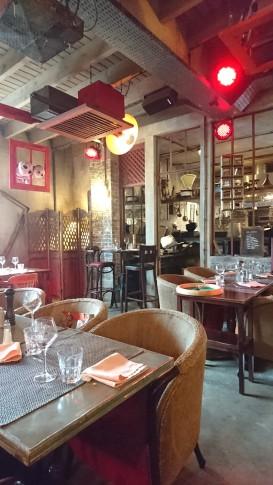 La Villa Laurent Carte Restaurant